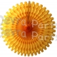 26 Inch Tissue Fan Gold (12 pcs)