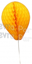 11 Inch Gold Honeycomb Balloon Decoration (12 pieces)