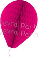 11 Inch Cerise Paper Balloon Decoration (12 pieces)