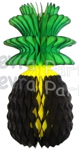 Jamaican Honeycomb Pineapple Decoration, 15 Inch (12 pcs)