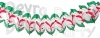 12 ft Christmas Cross Garland Decoration (12 pcs)