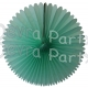 13 Inch Fan Decorations Mint Green (12 PCS)