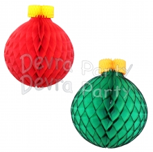 19 inch Classic Round Honeycomb Ornament Decoration (6 pcs)