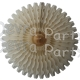 26 Inch Tissue Fan Classic and Vintage Ivory (12 pcs)