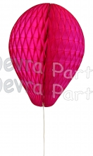 11 Inch Cerise Honeycomb Balloon Decoration (12 pieces)