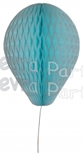 11 Inch Light Blue Honeycomb Balloon Decoration (12 pieces)