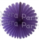 13 Inch Fan Decorations Lavender (12 PCS)