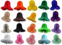 Mini 4 Inch Tissue Paper Wedding Bell (12 pcs)