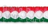 Christmas Oval Garland Decoration (12 pcs)
