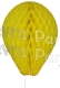 11 Inch Yellow Paper Balloon Decoration (12 pieces)