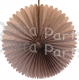 13 Inch Fan Decorations Gray (12 PCS)