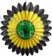 Jamaican Fanburst Party Decoration (12 pcs)
