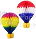 16 Inch Tissue Paper Hot Air Balloon (6-pack)