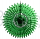 26 Inch Tissue Fan Dark Green (12 pcs)