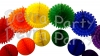 Rainbow Honeycomb Decoration Kit (6 balls and 6 fans)