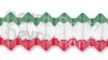 Christmas Red/White/Green Arch Garland (12 pcs)