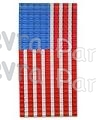 Large US FLAG Honeycomb Party Decoration - single piece