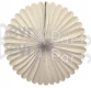 27 Inch Deluxe Fan White (12 pcs)