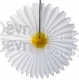 13 Inch Daisy Flower Fan Decorations (12 PCS)