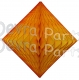 Gold Hanging Diamond Decoration (12 pcs)