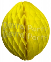 Honeycomb Lemon Decoration, 14 Inch (12 pcs)