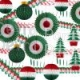 Christmas Decorations Kit (21 Pieces)