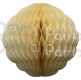 14 Inch Puff Ball Classic and Vintage Ivory (12 pcs)