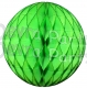 Lime Green Tissue Paper Ball (12 pcs)