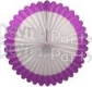 27 Inch Deluxe Fan Lilac White (12 pcs)