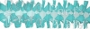 12 Foot Teal Spider Fringe Garland (12 pcs)