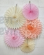 Small Tissue Paper Fan Collection - ALL COLORS - SINGLE KIT