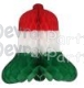 19 Inch Honeycomb Bell Red White Green (12 pcs)