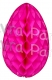 Cerise Easter Egg 18 Inch (6 pcs)