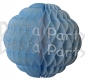 14 Inch Puff Ball Cool Blue and White (12 pcs)