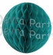 Teal Honeycomb Ball (12 pcs)