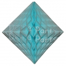 Light Blue Hanging Diamond Decoration (12 pcs)