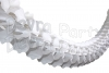 12 Foot White Oval Garland (12 pcs)