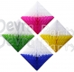 Two-Tone 12 Inch Hanging Diamond Decoration (12 pcs)