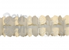 12 Foot Cross Garland Decoration Classic Ivory - Solid (12 pcs)