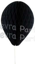 11 Inch Black Honeycomb Balloon Decoration (12 pieces)