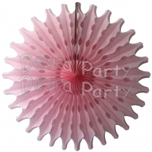 Pink 18 Inch Fan Decoration (12 pcs)