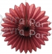 Maroon Fanburst Decoration (12 pcs)