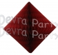 Burgundy Hanging Diamond Decoration (12 pcs)
