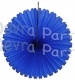 13 Inch Fan Dark Blue Decorations (12 PCS)