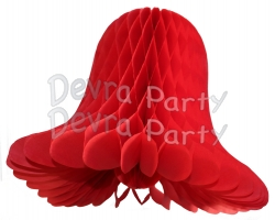 Red Wedding Bell (12 Pieces)