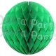 Light Green Tissue Paper Balls (12 pcs)