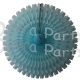 26 Inch Tissue Fan Light Blue (12 pcs)