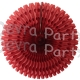26 Inch Tissue Fan Burgundy (12 pcs)