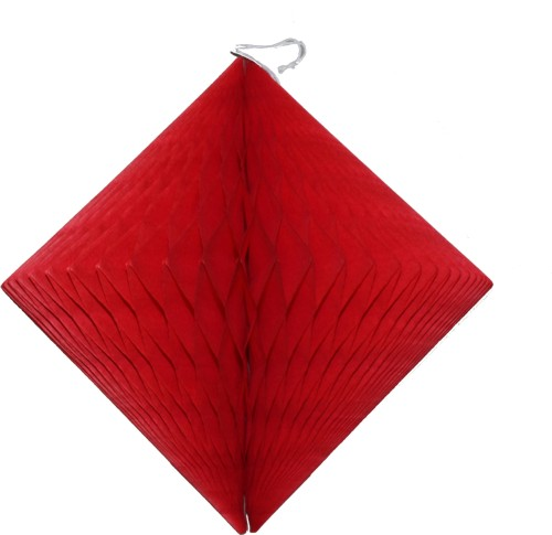 Red Hanging Diamond Decoration (12 pcs)