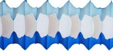 Winter Tissue Arch Garland (12 pcs)